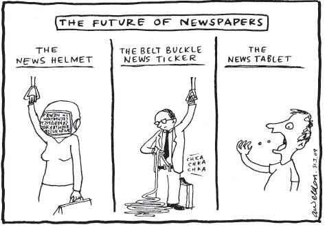 Quality journalism and the demise of newspapers. « Online Journalism